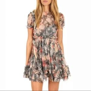 Zimmermann Chiffon Silk Dress
